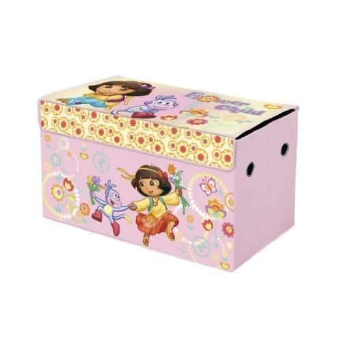 GoDeire(TM) Nickelodeon Dora the Explorer Collapsible Storage Trunk New by GoDeire