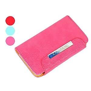 conseguir Kalaideng de cuero de la marca cubierta de caja de protección para Samsung i9220 (colores surtidos) , Azul