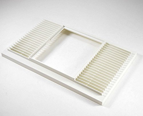 Kenmore 99110424 Exhaust Vent Grille Genuine Original Equipment Manufacturer (OEM) Part for Kenmore, White by Kenmore