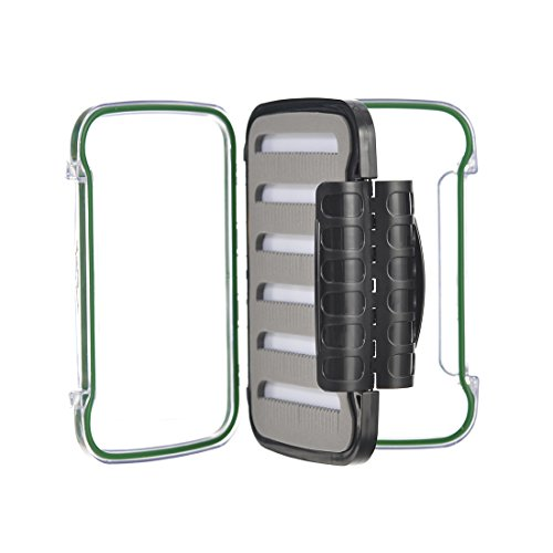 High-impact Plastic Double Side Pocketed Fly Fishing Box