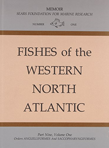 Fishes of the Western North Atlantic, part nine (Volumes 1 & 2)