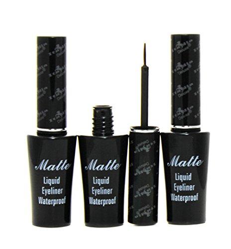 Italia Deluxe Matte Liquid Eyeliner Waterproof (3pcs)