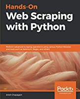 Hands-On Web Scraping with Python Front Cover