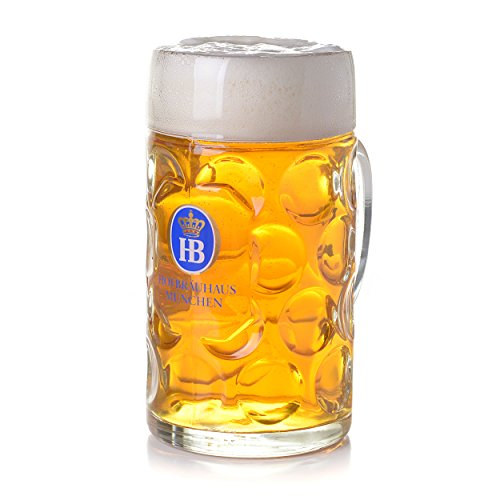 Liter Hofbrauhaus Munchen Dimpled Glass product image