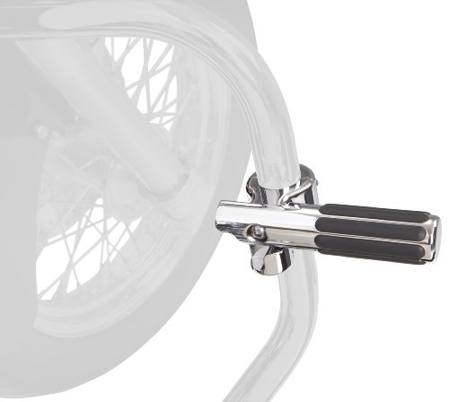 Show Chrome Big Bike Parts - Show Chrome Accessories 21-334 Highway Round Rail Peg System
