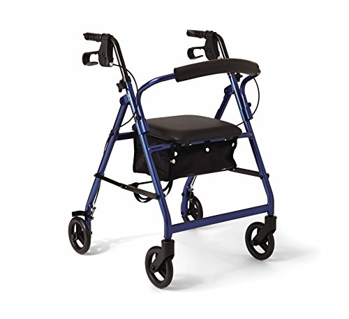 Medline Durable Aluminum Mobility Rollator