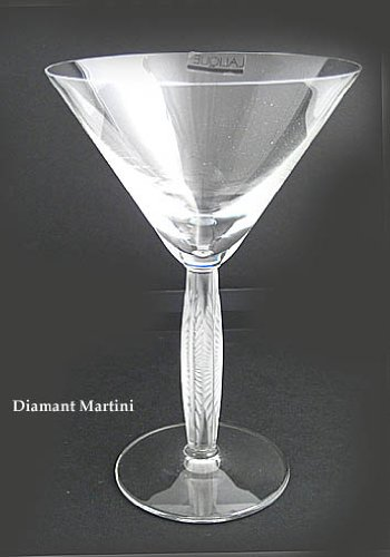 Lalique Crystal Diamond/Diamant Water Glass (Lalique Clear Crystal)