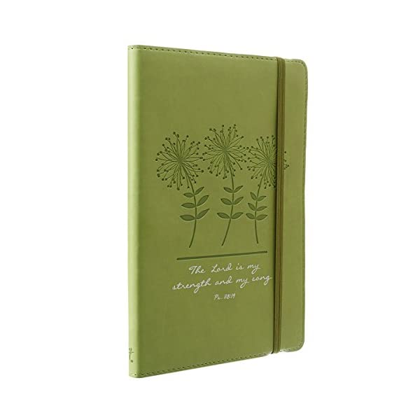 Green-Strength-and-Song-Flexcover-Journal-Notebook-Psalm-11814