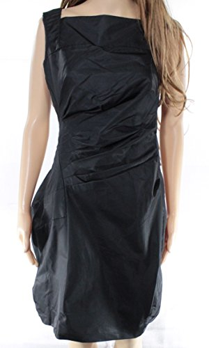 nordstrom-solid-womens-medium-ruched-sheath-dress-black-m