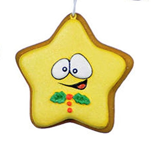 One Hundred 80 Degrees Sugar Cookie Ornament, Choice of Style (Star) ()