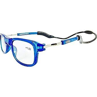 e7ea7e0da2 Loopies haute qualité Magnétique Lecture lunettes. Unisexe, Réglable,  Pliable et Avant Connexion avec
