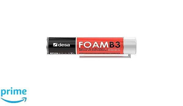 Desa 27007503 - Espuma de poliuretano DESA-FOAM B3 canula 750 ml: Amazon.es: Bricolaje y herramientas