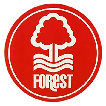 Nottingham forest window sticker