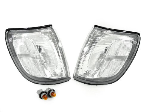 DEPO 1999-2001 Toyota 4Runner SR5 Front Clear Corner Signal Light Set ()