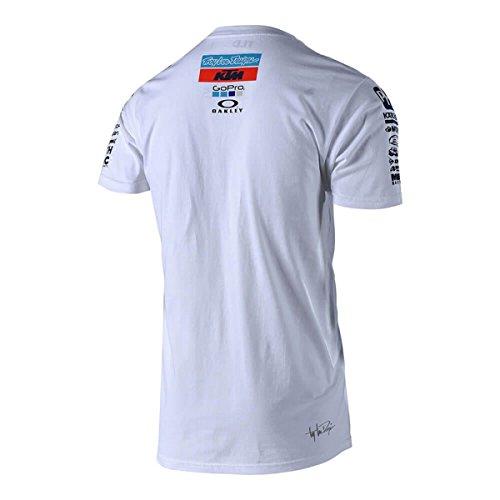 09b332ef77551 Troy Lee Designs Men s 2018 KTM Team Short-Sleeve Shirts high-quality