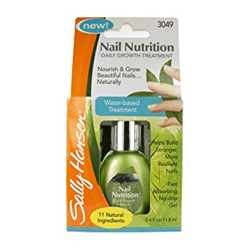 Amazon.com : Sally Hansen Nail Nutrition Daily Growth Treatment ...
