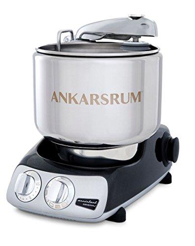 (Ankarsrum Original 6230 Black Diamond and Stainless Steel 7 Liter Stand Mixer)