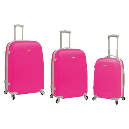 travelers-polo-racquet-club-tprc-barnet-3-piece-expandable-spinner-luggage-set-neon-pink-one-size