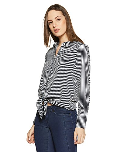 Moda Vero Femme Aop Multicolore Blouse Snow White thin Stripe FddCqrP