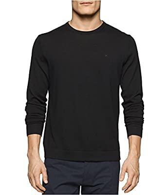 Calvin Klein Men's Merino Crew Neck Sweater