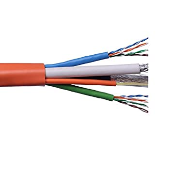 Amazon.com: Structured Wire Cable with Fiber Optic Cabling Voice ...