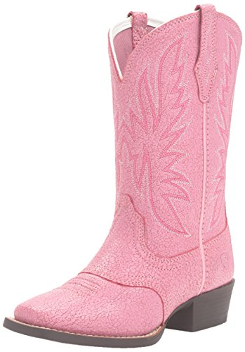 Pink Cowboy Boots For Toddlers (Ariat Kid's Outrider Western Boot (Toddler/Little Kid/Big Kid),Pastel Pink,10 M US Toddler)