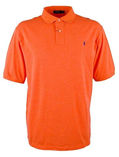 Polo Ralph Lauren Mens Classic Fit Polo Shirt (M, Orange Spring Melon)