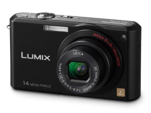 Panasonic DMC FX-150K 14.7MP Digital Camera with 3.6x Wide Angle MEGA Optical Image Stabilized Zoom (Black)
