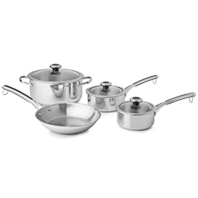 Revere 7 Piece Set, One Size, Stainless Steel