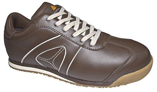 Delta Plus-d Spirit S3 Chaussures Basses Cuir Pleine Fleur Marron- S3 Src- Dspirs3ma39