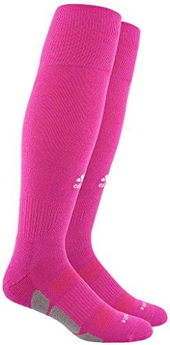 adidas Utility All Sport Socks, Small, Intense Pink/White/Light Onix -