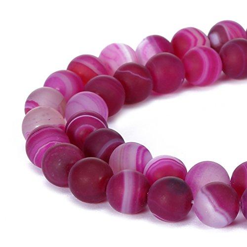 Matte Round Bead Bracelet - 5
