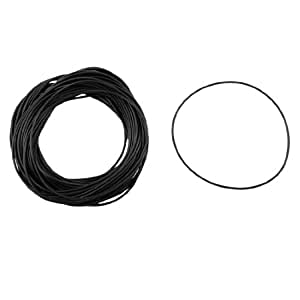 uxcell 50pcs 85mm OD 1.5mm Thickness Nitrile Rubber O-ring Oil Seal Gaskets