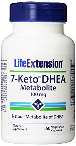 Жизни расширение 7-кето DHEA 100 мг, 60 капсулы вегетарианские