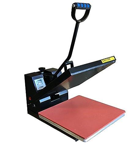 DG HEAT PRESS Digital Sublimation T-Shirt Heat Press,15-by-15-Inch - Black (15 X 15 Power Heat Press)