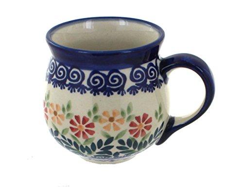 polish-pottery-garden-bouquet-bubble-mug