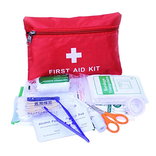 (ESUPPORT 34 Piece First Aid Emergency Kit Car Home Medical Camping Office Travel )