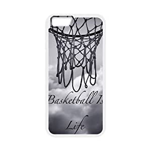 "Basketball is life DIY Case Cover for Iphone6 Plus 5.5"",Basketball is life custom case cover"