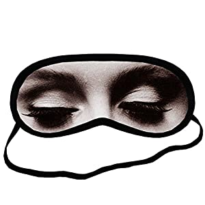 Adele EYM169 Eye Printed Travel Eye Mask Sleeping