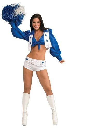 Dallas Cowboy Cheerleader Deluxe Costume (XS) -