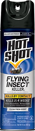 Flying Insect Killer Spray (Hot Shot 5416 15-Ounce Flying Insect Killer Aerosol, Case Pack of 1)