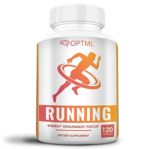 (OPTML Running Performance Supplement | Boosts Energy | Increased Endurance | Enhanced Focus | Reduced Stress | Run Longer and Faster (120 Capsules) )