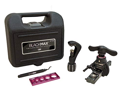 CPS BlackMAX BFT850K Lightweight R-410A Clutch-Type Ecentric Flaring Tool Kit with Flare Size Gauge, Cutter and Deburring Tool by CPS (Image #3)