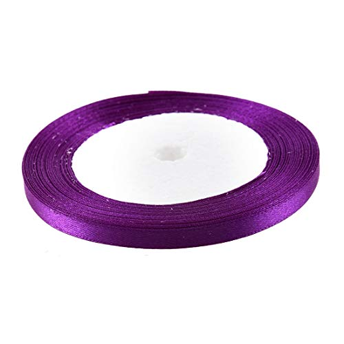 Ribbons - Hgho Fashion Satin Ribbon Diy Crafts Hair Bows Decorations Lilac - Birthday Necklace Rainbow Mint Roses Multi Ombre Antique Design Brooch Blanket Laces Flowers Side Purple ()