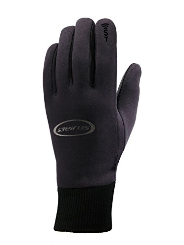 (Seirus Innovation Soundtouch All Weather Glove, Black, Small)
