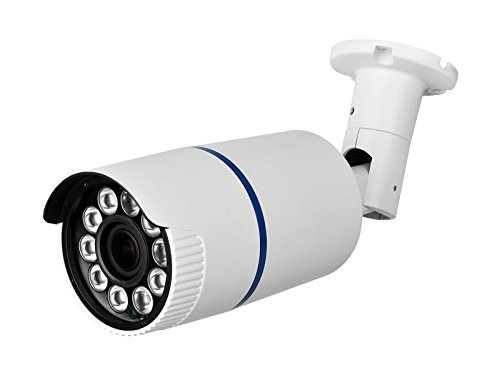 HDView® 2.4MP 4-in-1 (TVI/AHD/CVI/960H) Long Range IR HD 1080P Outdoor SONY Sensor Turbo Platinum Bullet Camera 2.8-12mm Lens, Matrix EXIR