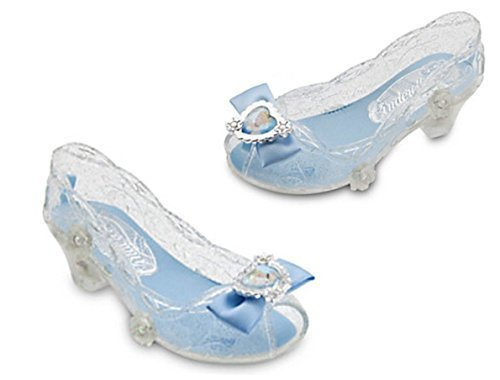 [Disney Cinderella Light-Up Costume Shoes for Kids (2/3)] (Costumes Shoes For Kids)