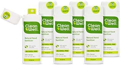 Hand Sanitizer: CleanWell Natural Hand Sanitizer Spray