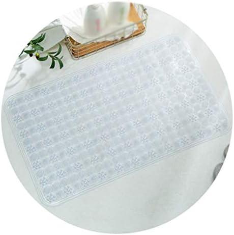 GHHQQZ バスルームのカーペット ノンスリップ マッサージ 強力な吸盤 バスルームラグ PVC 入浴 フットパッド キッチン 家庭、 14色、 複数のサイズ (Color : H, Size : 60x90cm)
