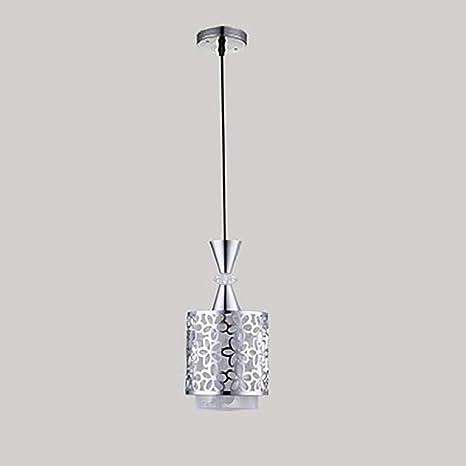 Amazon.com: Zuen Lámpara de techo moderna de cristal I Ron ...